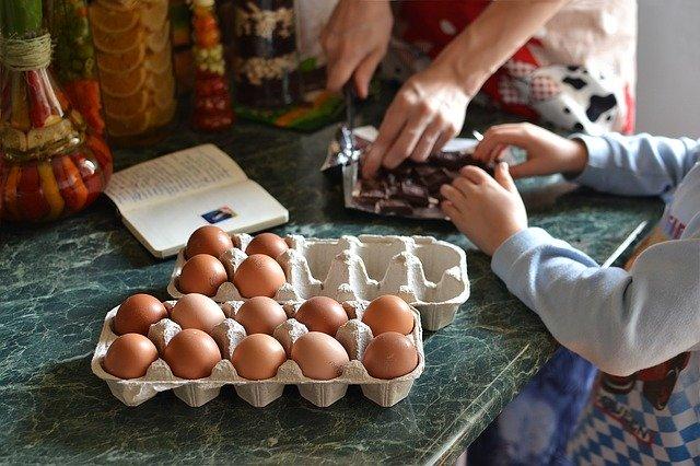 בישול עם הילדים